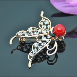 Vincento Brooch With Zirconium Crystal LD-1021