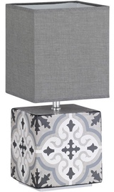 Fischer & Honsel Oriental Table Lamp 40W E14 White/Gray
