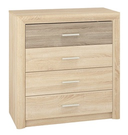 ML Meble Castel 11 Chest Of Drawers Sonoma Oak