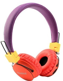 ProLink Fineblue Beatrack FR-7S Bluetooth Headphones Purple/Orange