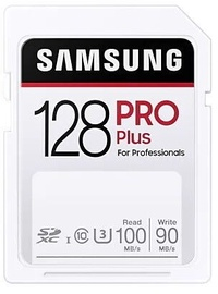 Samsung Pro Plus SDXC Memory Card 128GB
