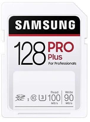 Samsung Pro Plus SDXC Memory Card 128GB
