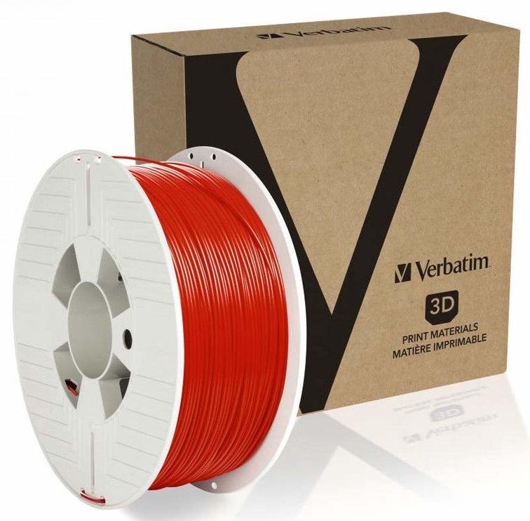Расходные материалы для 3D принтера Verbatim PET-G 55053, красный