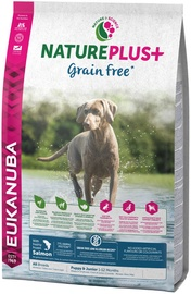 Eukanuba Nature Plus Puppy & Junior Grain Free Salmon 10kg