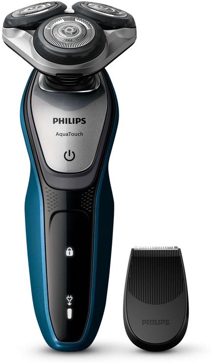 Skuveklis Philips AquaTouch S5420/06, akumulatora, ar trimmeri