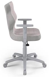 Детский стул Entelo Duo CR08, розовый/серый, 400 мм x 1045 мм