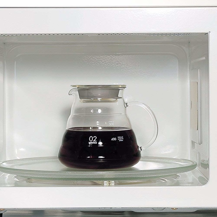 Hairo V60 Coffe Range Server 0.6L Brown