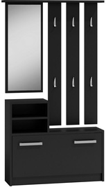 Top E Shop Hall Unit Black