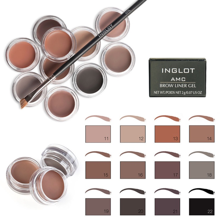 Inglot AMC Brow Liner Gel 2g 22