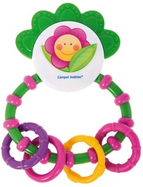 Canpol Babies Happy Garden Rattle With Soft Bite Teether 56/137 Assort