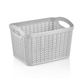 Ucsan Plastik M-093 Basket 3.3l Gray