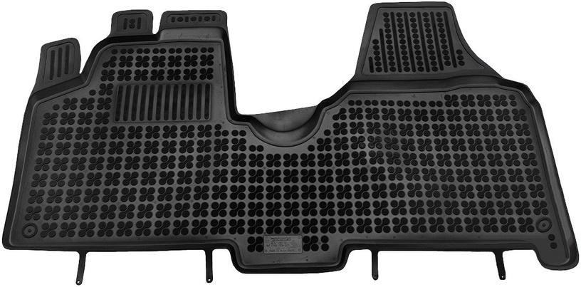 Резиновый автомобильный коврик REZAW-PLAST Citroen Jumpy II 2007 Front, 1 шт.