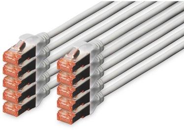 Провод Assmann Digitus Professional patch cable, серый, 0.25 м
