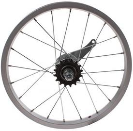 Rear Wheel 16H Silver