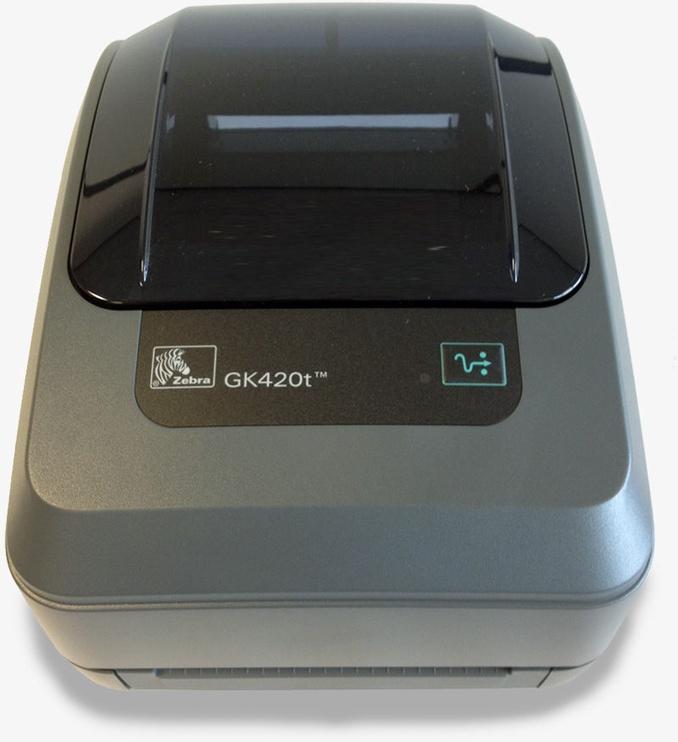 Принтер этикеток Zebra GK420t, 1400 г
