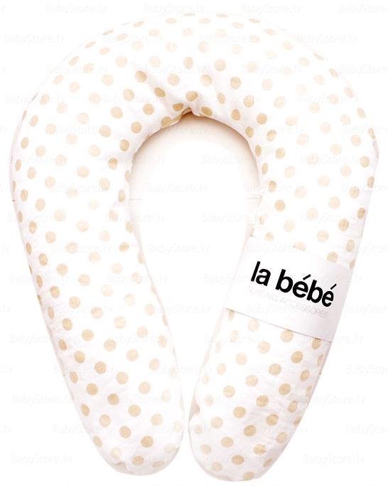 Pagalvė La Bebe Nursing Maternity Pillow Snug 20x70cm Eco Dots 90957