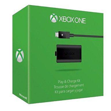Microsoft Xbox One Play & Charge Kit Black