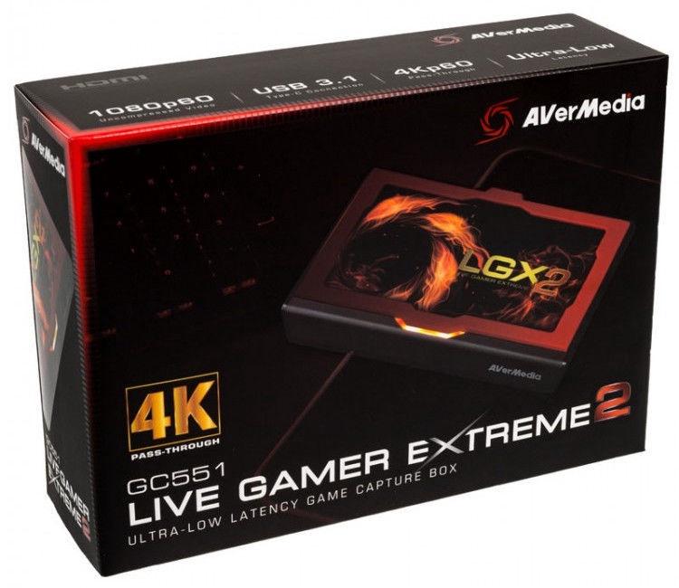 AverMedia Video Grabber GC551 Live Gamer Extreme 2
