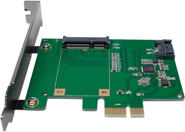 LogiLink mSATA SSD + SATA HDD Extension Card