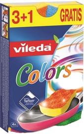 Kempinė Vileda Pur Active Color, 4 vnt.