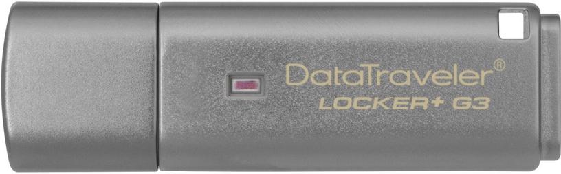 USB atmintinė Kingston DataTraveler Locker+ G3, USB 3.0, 16 GB