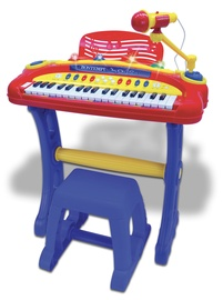 Bontempi Toy Band Star Electronic Keyboard With Microphone And Stool