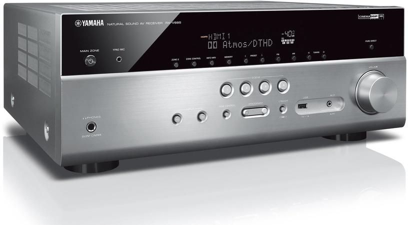 Yamaha RX-V685 Silver