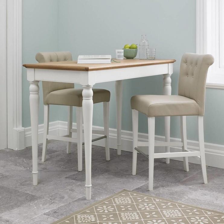 Барный стул MN 8005-14-2 Ivory