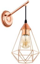 Verners Tarbes Wall Lamp 60W E27 Copper