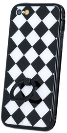Mocco Grid Ring Back Case For Samsung Galaxy A5 A510 Black/White