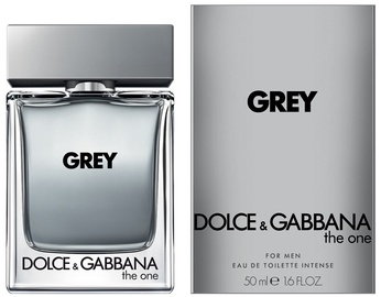 Tualetes ūdens Dolce & Gabbana The One Grey 50ml EDT
