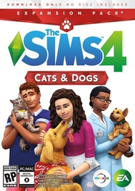 Sims 4: Cats and Dogs Expansion Pack PC
