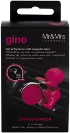 Mr & Mrs Fragrance Gino Car Air Freshner Citrus & Musk