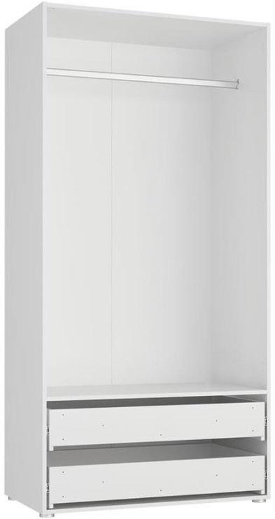 Skapis Tuckano Bella 05 White, 100x55x201 cm