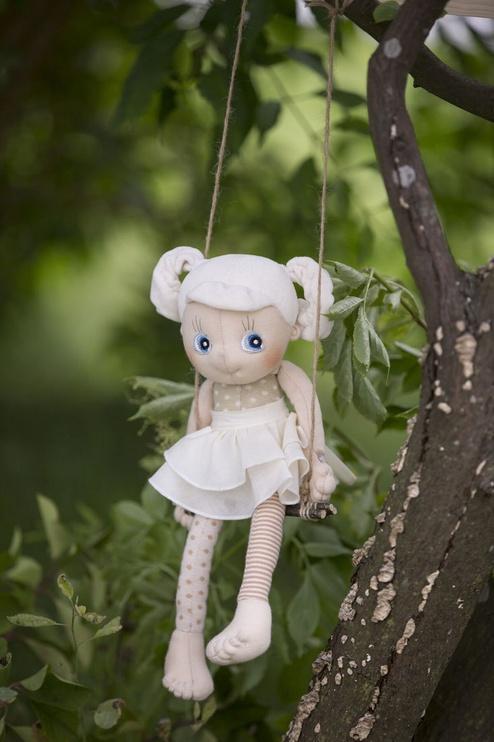 Тряпичная кукла Rubens Barn EcoBuds Daisy