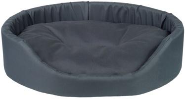 Лежанка Amiplay Basic Oval Bedding L 58x50x15cm Graphite
