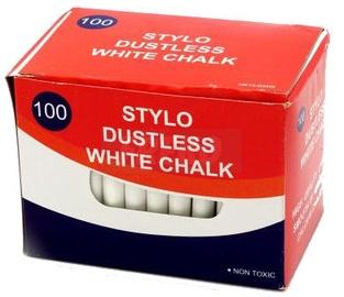 Avatar Chalks White 100PCS Round