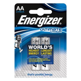 Elementai Energizer Ultimate Lithium AA, 2 vnt.