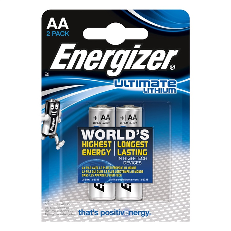 ENERGIZER ULTIMATE LITHIUM AA X2