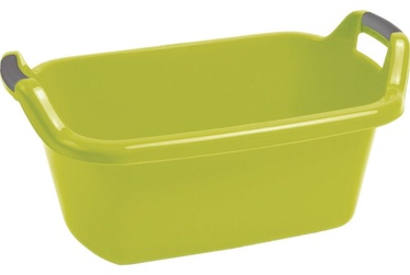 Curver Oval Bowl With Handles 35L Green