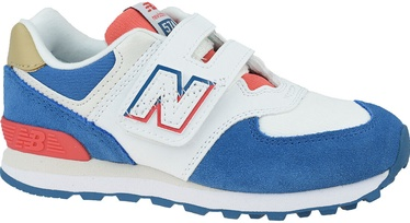 New Balance Kids Shoes YV574SCF White/Blue 34.5
