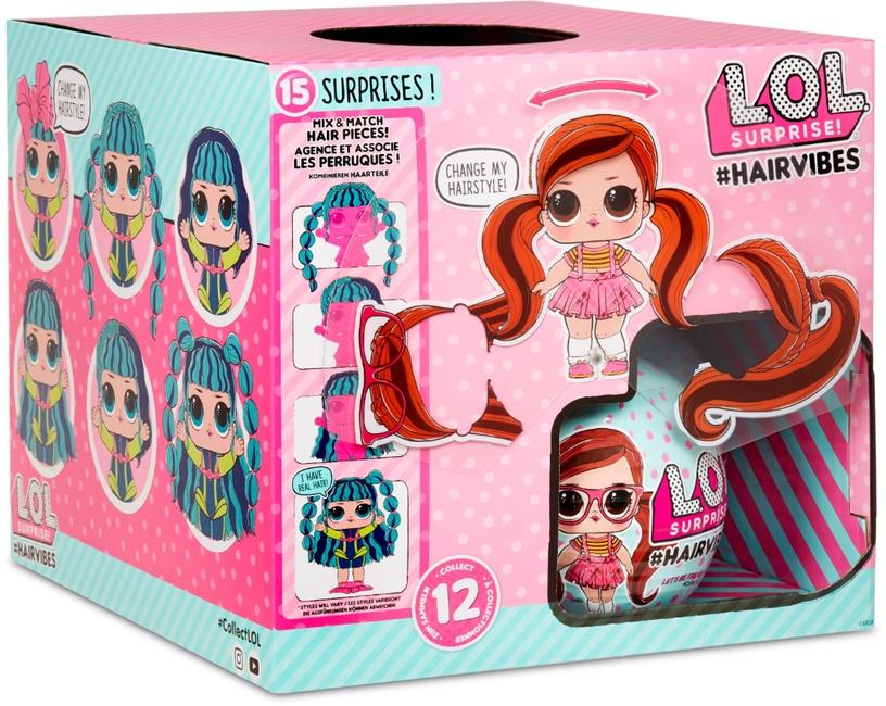 Žaislinė figūrėlė MGA L.O.L. Surprise Hairvibes 564744