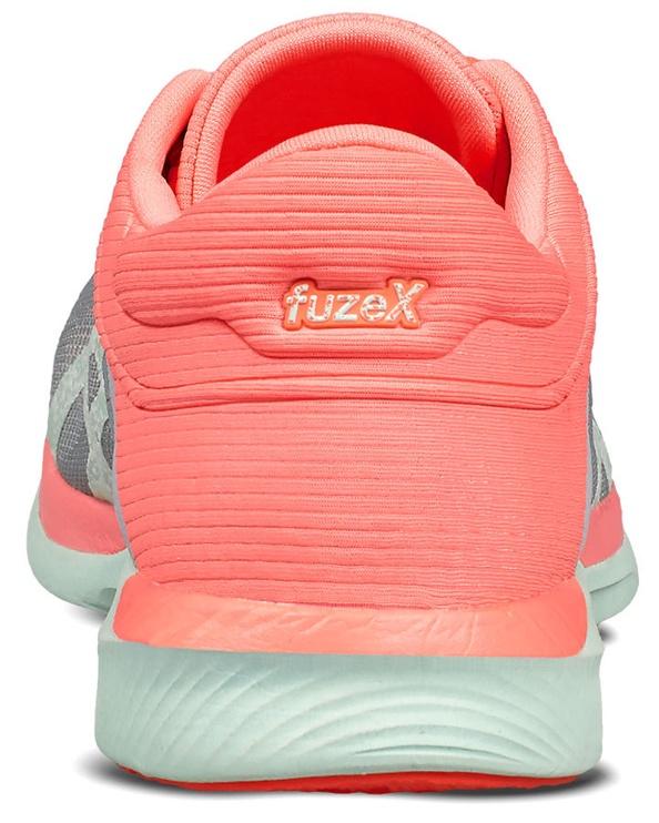 Asics Fuze X Rush T768N-9687 Midgrey Bay Flash Coral 39 1/2