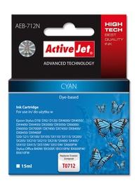 Tindiprinteri kassett ActiveJet Cartridge AEB-712N 15ml Cyan
