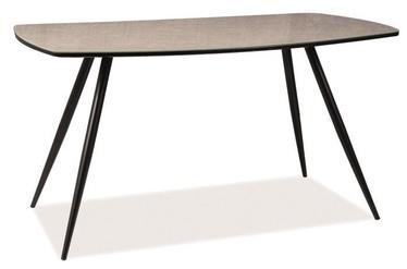 Kafijas galdiņš Signal Meble Senso Grey, 1400x800x750 mm