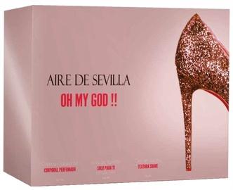 Набор для женщин Instituto Español Aire De Sevilla Oh My God 150 ml EDT + 150 ml Body Cream + 150 ml Shower Gel