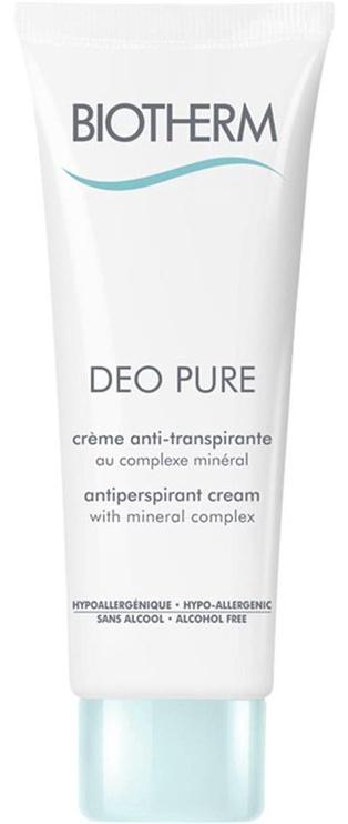 Biotherm Deo Pure 75ml Antiperspirant Cream