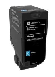 Lexmark 84C2HCE Toner Cartridge Cyan