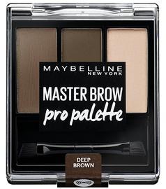 Maybelline Master Brow Pro Palette 4g Deep Brown