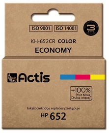 Actis Cartridge KH-652 replacement for HP 652 F6V24AE MultiColor